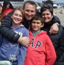 Dorigatti Family at our 35th Anniversary  Cruise - Eryka, Luca, Nicolas and Michela